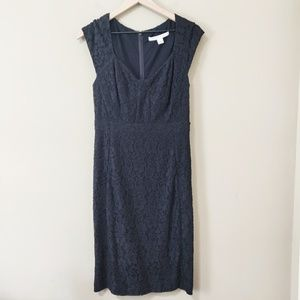 Diane Von Furstenberg Sleeveless Lace Dress